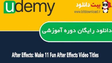 After Effects: Make 11 Fun After Effects Video Titles