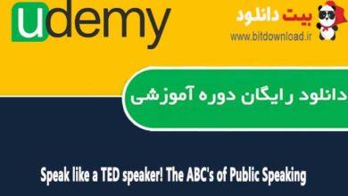 Speak like a TED speaker! The ABC