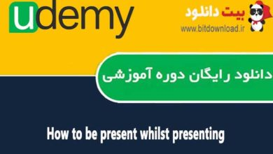 How to be present whilst presenting